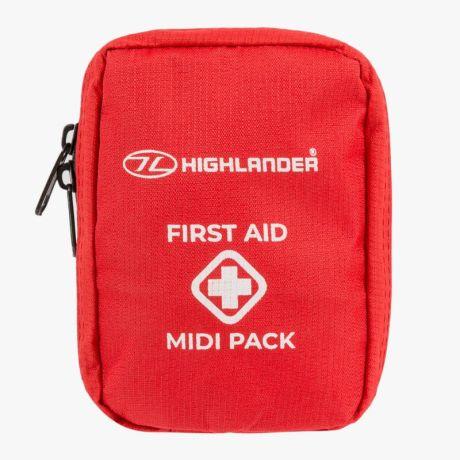 HIGHLANDER-FIRST-AID-PACK-MIDI-RED-MEDIUM-KIT-TRAVEL