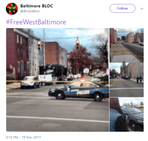 "Entire Baltimore Neighborhood UNDER LOCKDOWN: ""Police Declared Martial Law"""
