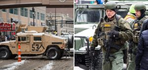 Super Bowl Security Turned Minneapolis Into a Military Police State