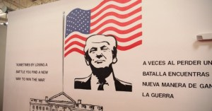 Children's Detention Center Tour Reveals Trump Mural That Would Look 'In Place In a Banana Republic'