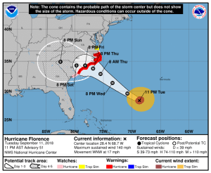 """People Are """"Fighting For Food"""" As Authorities Warn Florence """"Could Produce A Disaster Comparable"""" To Hurricane Katrina"""