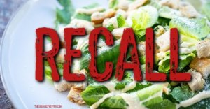 E. Coli OUTBREAK: 100,000 POUNDS of Salad Recalled, Romaine Lettuce Suspected