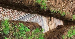 Ancient Roman Mosaic Is Discovered in Pristine Condition Under a Vineyard in Italy