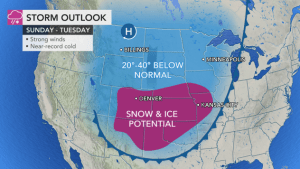Arctic outbreak poised to demolish records, usher in snow unusually far to the south