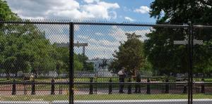Video: Gulag Fencing Goes Back Up Around Capitol; Trump Warns 'It's a Setup'
