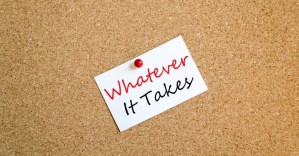 """""""Whatever it takes"""""""