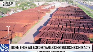 Video: $100 MILLION Border Wall Discarded In Field While Biden Still Pays Contractors To NOT Build It