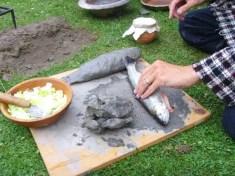 survival clay baking