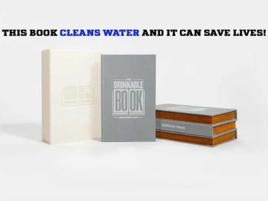 Prepper's Will - The Drinkable Book - Water cleaning system