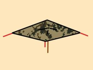 Prepper's Will - Mushroom Fly tarp shelter