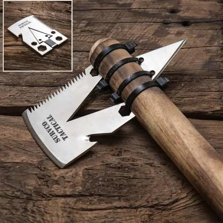 Survival gear - Survco credit card tool