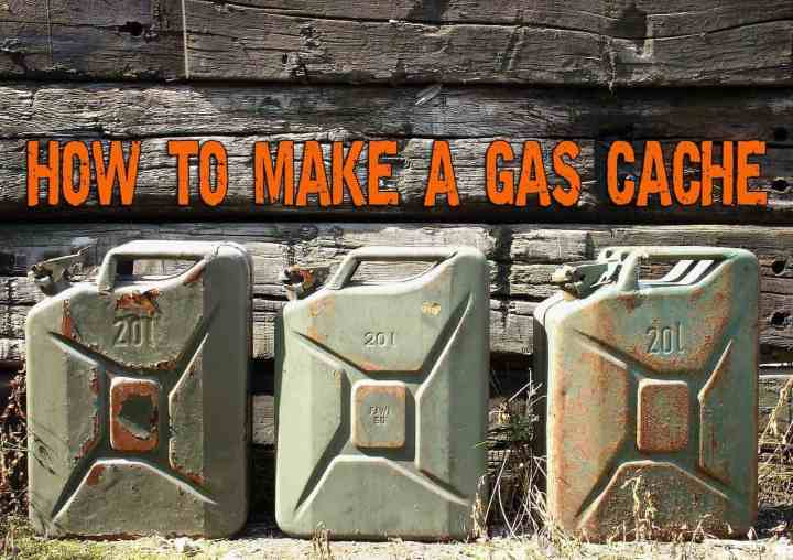 How to make a gas cache