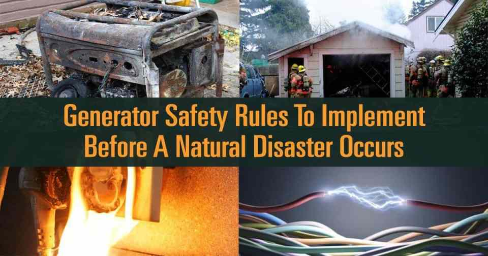 Generator Safety Rules To Implement Before A Natural Disaster Occurs