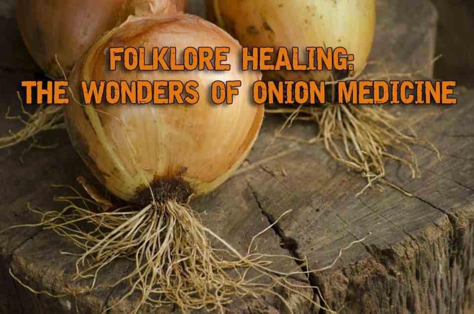 Folklore Healing - The Wonders of Onion Medicine