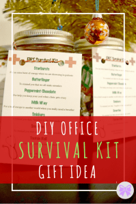 DIY Office Survival Kit Gift Idea