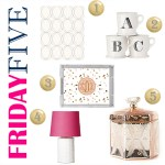 {Friday Five} Dress Your Desk