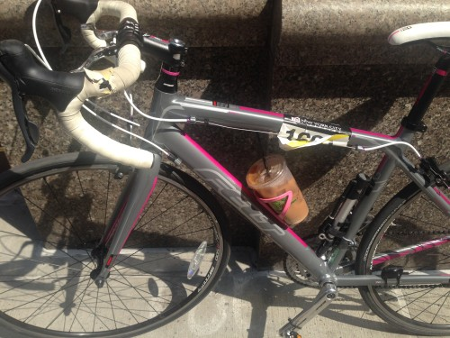 Water bottle cages=iced coffee cages