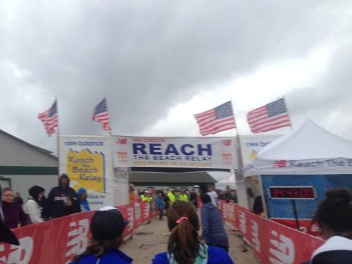 Reach the Beach Finish Line