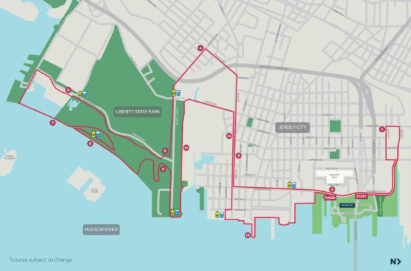 Newport Jersey City Half Marathon