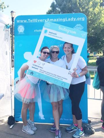 Teal Walk Ovarian Cancer
