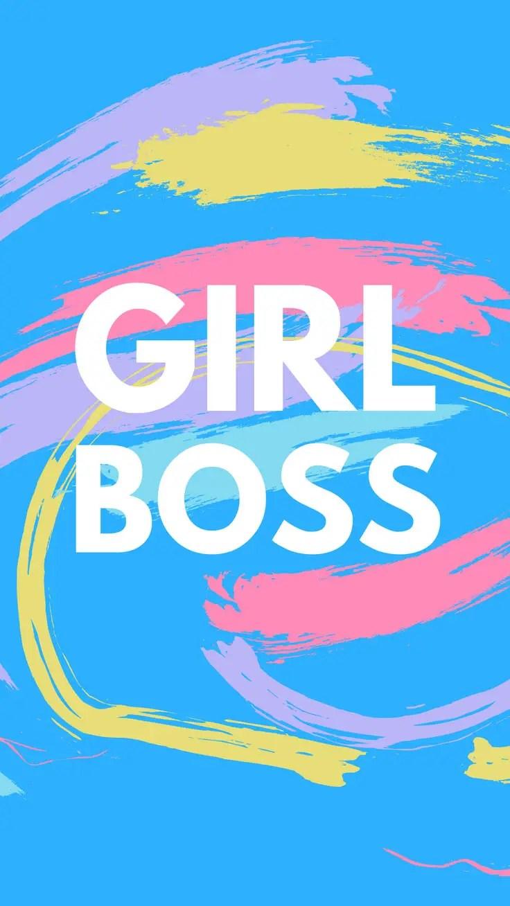 Cute Preppy Deskstop Wallpapers 5 Motivational Girl Boss Iphone Wallpapers Preppy Wallpapers