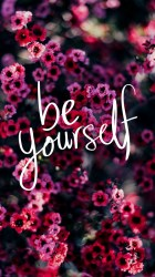 motivational wallpapers backgrounds cute iphone inspirational quotes yourself phone pink background kawaii amazingly quote screen desktop kicking preppy cool grace