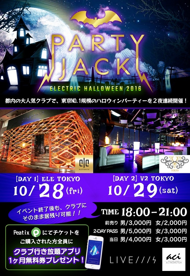 Party Jack ~Electric Halloween~