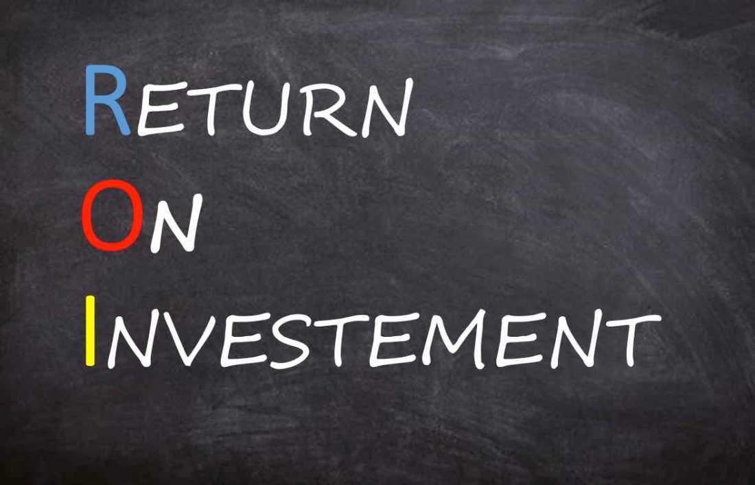 Contenu et retour sur investissement ROI