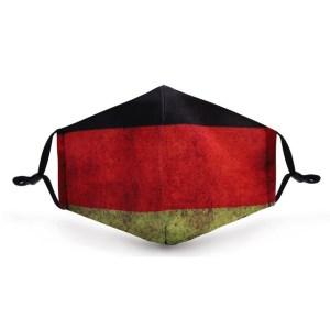 Gesichtsmaske Motiv Deutschland