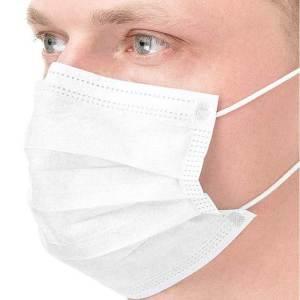 Mund und Nasenbedeckung Weiß