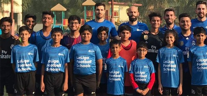 La Liga to send Indian school children to Spain to get the best