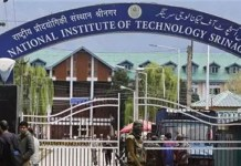 NIT Srinagar orders suspension of classes, non-local students begin to vacate premises
