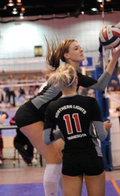 Mizuno Northern Lights Volleyball