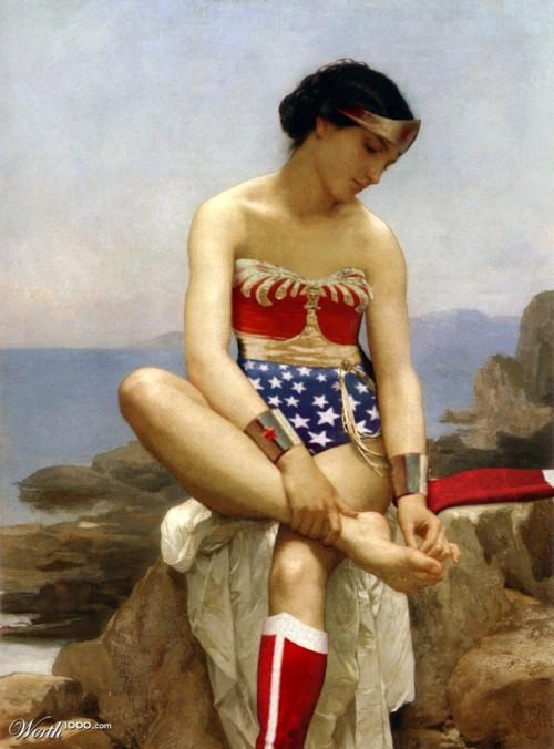 I Am Wonder Woman • Preraphaelite Sisterhood