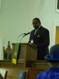 Rev. Earnest Parish