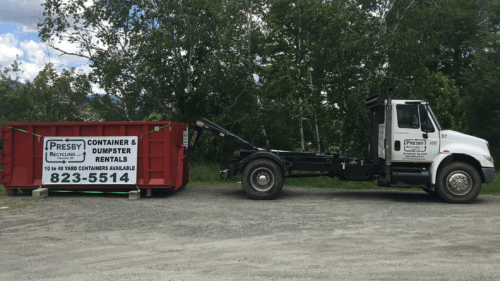 container dumpster rentals presby