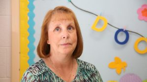St. Paul's Preschool teacher Wendy Mathy