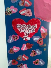 Valentines Day Door Display | preschool bulletin boards