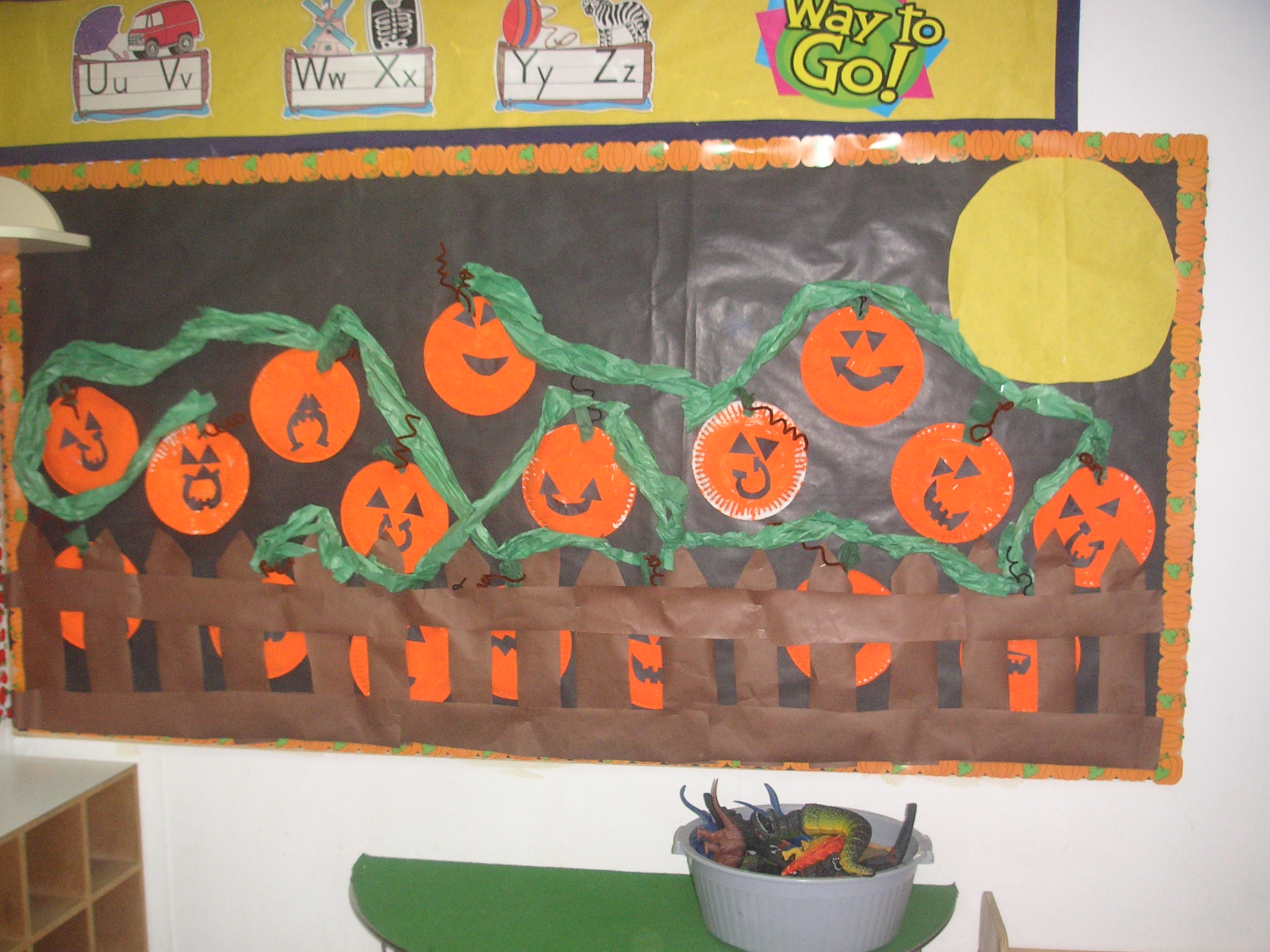 Halloween Bulletin Boards For Preschoolers