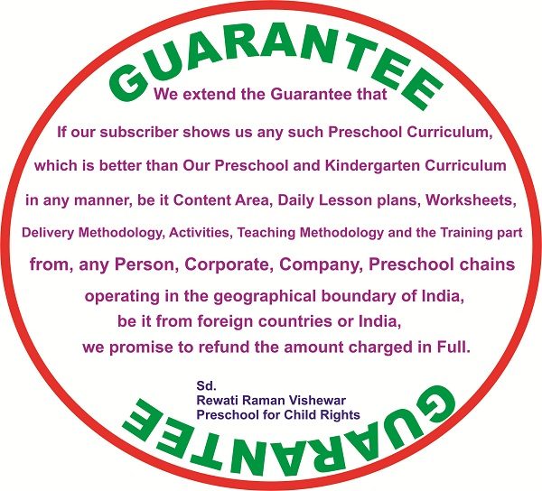 Preschool for Child Rights Guarantee