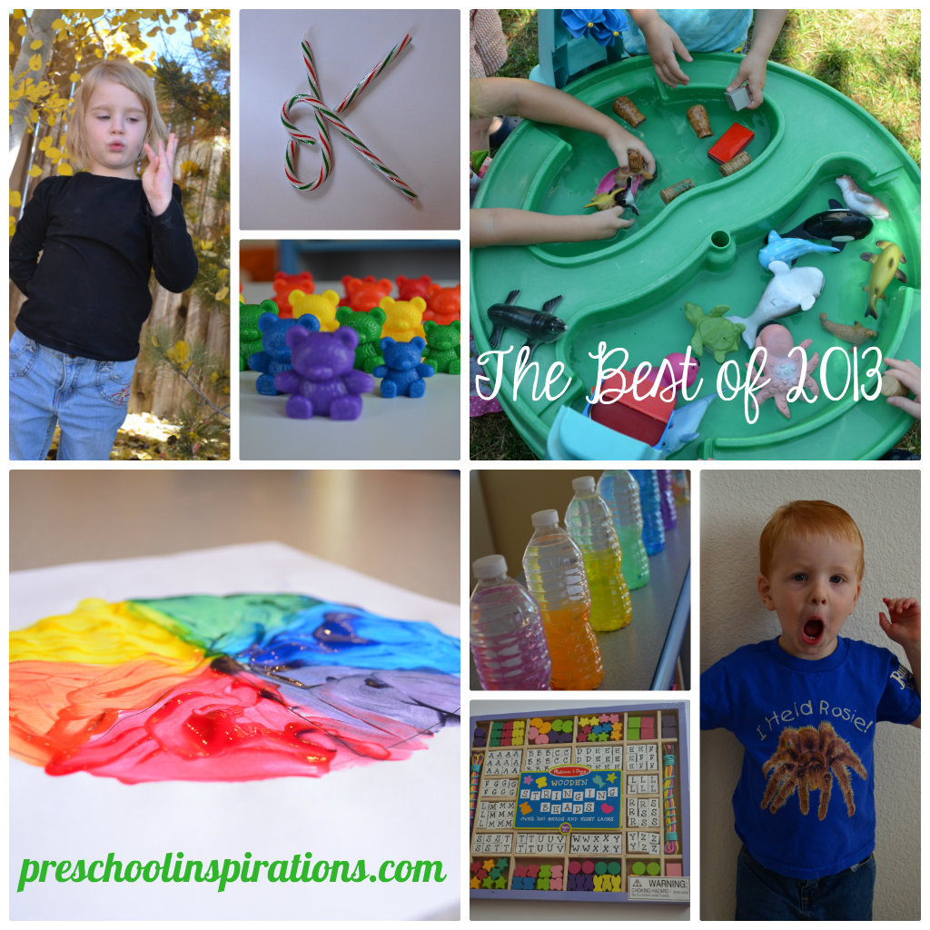 The Best of 2013 by Preschool Inspirations