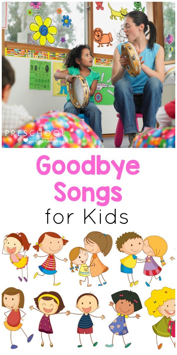 Bye Have A Wonderful Time : wonderful, Preschool, Goodbye, Songs, Teachers, Love!