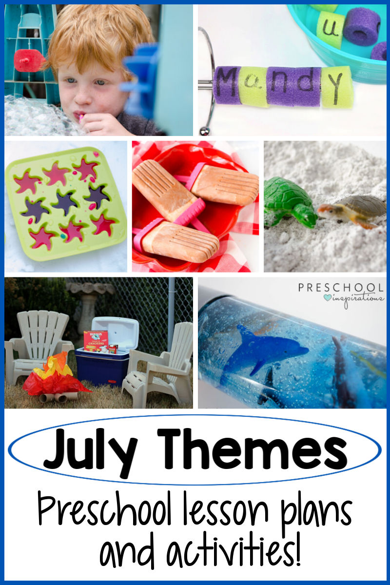 July Preschool Themes : preschool, themes, Preschool, Themes, You'll, Inspirations
