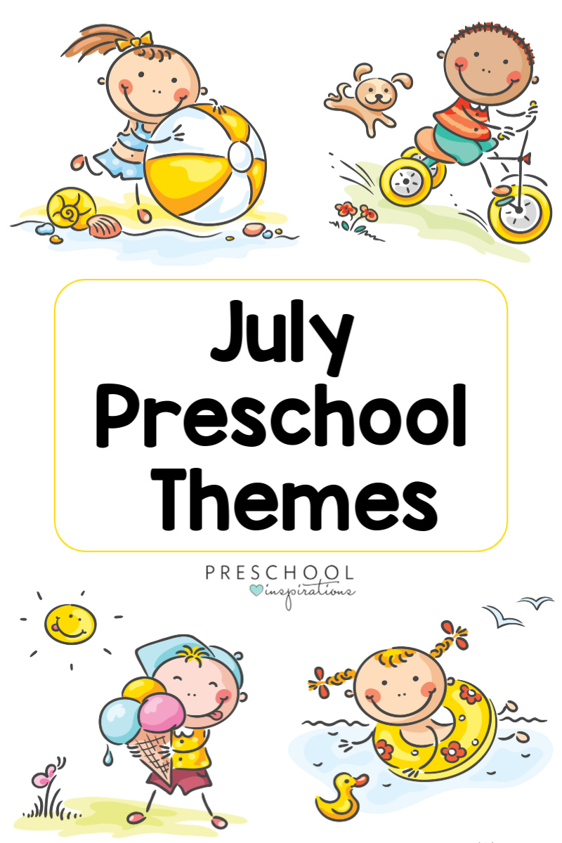 Holidays and celebrations themes for preschool and