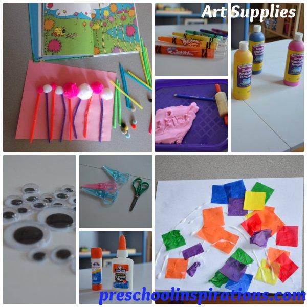 Back to School Supplies for Preschool