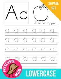 Preschool Printables Alphabet