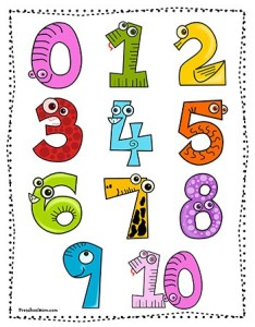 Printable number chart also preschool printables rh preschoolmom