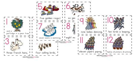 Christmas Sequencing Worksheet For Preschool Christmas