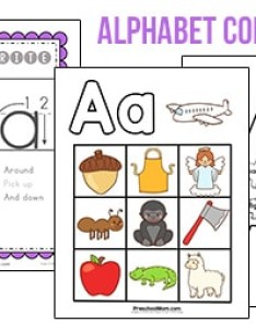 Premium alphabet charts also free printable classroom rh preschoolmom