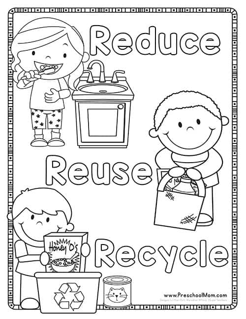 Recycle Worksheets For Preschool. Recycle. Best Free